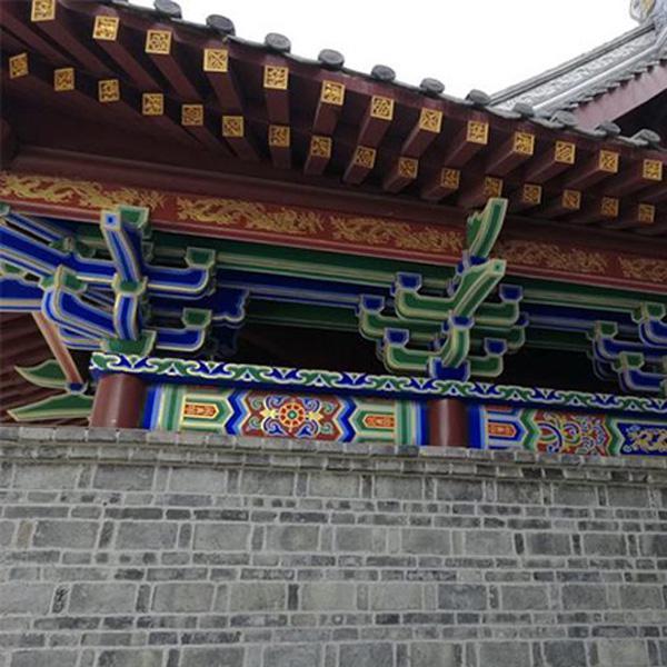 贵州彩绘建筑